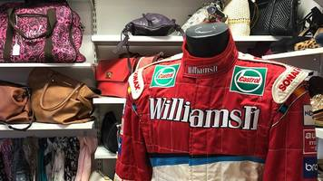 ralf schumacher f1 suit given to kenilworth charity shop