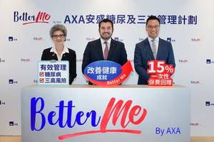 axa hong kong launches first-in-market  'axa diabetes & three-highs management programme' to actively help improve health of customers