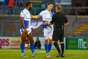 Tom Lockyer has his say on controversial late penalty shout against Bristol Rovers in Carabao Cup win