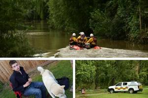 day three of search for missing man due to resume in and around river severn in gloucester
