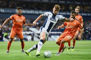 Harvey Barnes helps West Brom into Carabao Cup second round
