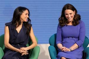 meghan markle and kate middleton's incredible trick to ensure they don't flash their underwear