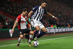 This is the minimum West Brom will sell Nacer Chadli for