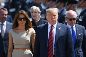 melania trump 'can't wait' to divorce donald trump and is using fashion to punish him