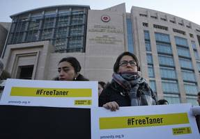 Turkish court orders release of local Amnesty chair - Amnesty