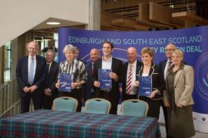 UK and Scottish Governments sign £600 million City Region Deal