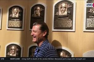 from growing up at the big a to the hall of fame, trevor hoffman is all class