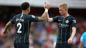 man city star kevin de bruyne suffers knee injury, extent not yet known