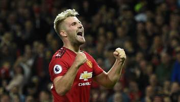 man utd defender luke shaw links up with well-known nutritionist following weight criticism