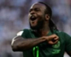 'you will always be remembered' - ahmed musa reacts to victor moses' nigeria retirement