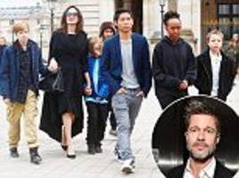 angelina jolie 'making it hard for brad pitt to bond with kids'