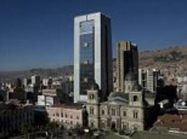 bolivian president's glitzy new £27million skyscraper residence is blasted as an 'insult'