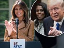 melania to share platform with social media after trump 'dog' tweet