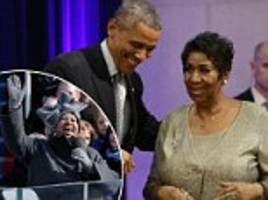 the obamas offer heartfelt tribute to aretha franklin
