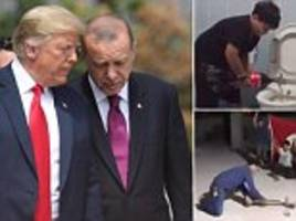 Turkish people are smashing iPhones and dumping Coca-Cola to protest Trump and boycott America