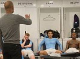 man city stars turned the air blue after defeat against rivals united