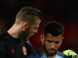 sergio aguero still hangs out with david de gea despite club rivalry