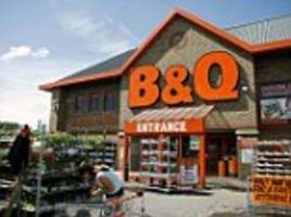 b&q bounces back from the beast from the east as heatwave warms the diy chain's sales