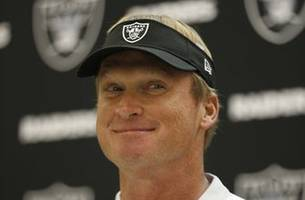 Gruden calls off Raiders' final practice of training camp