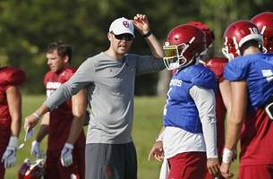 Oklahoma coach Riley ready to build on success in 2nd year