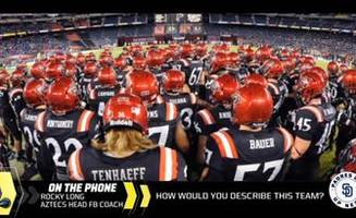 Rocky Long talks about the upcoming Aztec football season