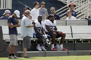 Titans, Saints use new ways to keep NFL players cool in camp