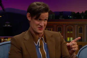 'the crown': matt smith has great (pay equality) advice for new prince philip tobias menzies (video)