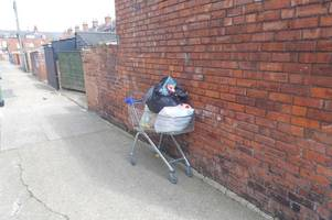 goole woman kyrsty o'neil fined £2,189 for dumping trolley filled with rubbish