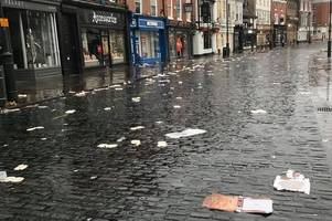 messy aftermath of beverley ladies day leaves town the 'worst it's ever looked'