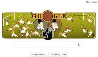 what today's google doodle about ebenezer cobb morley and football has to do with hull