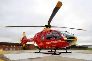 Boy dies after accident on North Staffordshire road