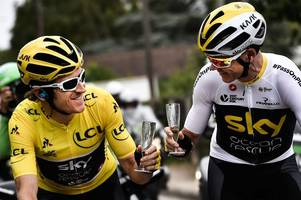 Geraint Thomas and Chris Froome to race in Devon as part of Tour of Britain