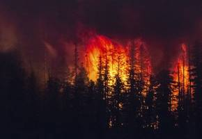 smoke from raging wildfires in western u.s. pushing carbon monoxide across the country