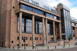 jealous thug travelled 150 miles from clydebank to newcastle to batter girlfriend on night out