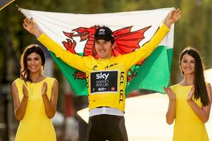 geraint thomas to ride tour of britain and you can watch the start right here in wales