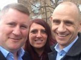 evan davis is forced to dismiss 'ridiculous' claims he campaigned with britain first