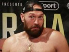 pantomime punch-up! tyson fury and deontay wilder take aim at anthony joshua after scuffle in hotel