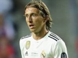 real madrid report inter milan to fifa over an alleged illegal approach luka modric