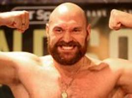 tyson fury sets his sights on deontay wilder super-fight
