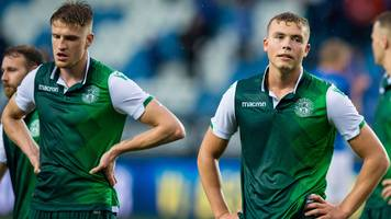 'hibs only have themselves to blame' for european exit