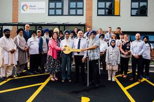 celebrations as derby's first sikh school's state-of-the-art building is complete