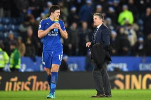 claude puel relaxed about harry maguire contract talks