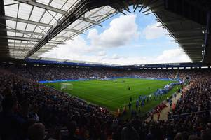 leicester city vs wolves tv details: who's in the teams? what time is kick-off?