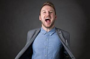 critically acclaimed fringe comedian brings brand new show to livingston