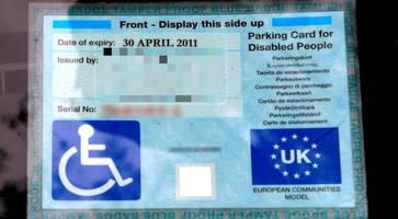 applications for disabled blue badge parking permits reach a 10-year high