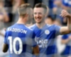 Leicester City 2 Wolves 0: Lucky Foxes win despite Vardy red card
