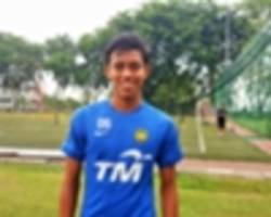 syahmi proud to help young tigers down son heung-min and co.