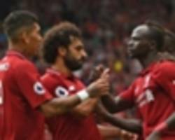 video: salah, mane and firmino are not competing against each other - klopp