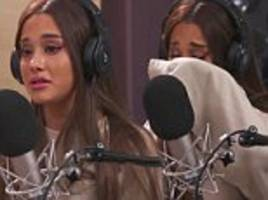 Ariana Grande breaks down as she reveals she's 'permanently affected' by bombing at Manchester gig
