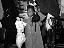 Faces of the Windrush children reveal a mix of emotions